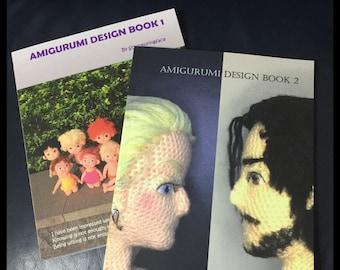 Amigurumi Design Book 1 & 2 by Sculpturingface
