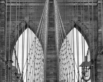 Brooklyn Bridge, New York, NY, #2.