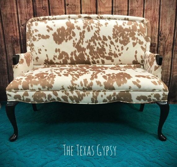 Tremendous Texas Gypsy Style Upholstered Sofa Chair Settee Loveseat Bench Couch Dining Room Living Room Furniture Theyellowbook Wood Chair Design Ideas Theyellowbookinfo