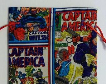 Captain America Dice Bag