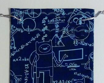 Adventure Time Math Dice Bag
