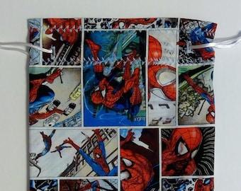 Spider-man Comic Dice Bag