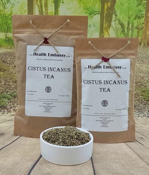 Cistus Incanus Tea (dried herbs) 100% Natural - Health Embassy