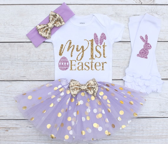 d0cc427b1 My 1st Easter Easter Outfit Easter Outfit Baby Easter | Etsy