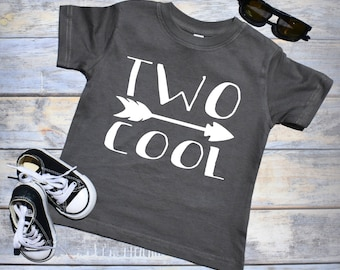 Two Cool. 2nd Birthday Boy. 2nd Birthday Boy Shirt. Two Year Old Boy. Birthday Outfit Boy. Second Birthday Boy. 2nd Birthday Shirt. Two Cool