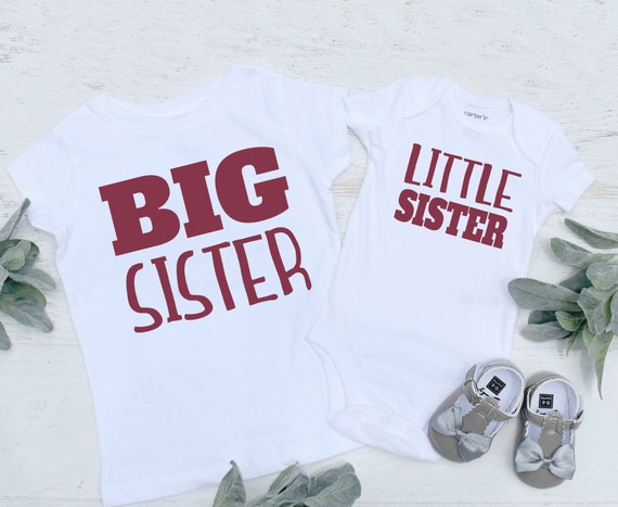 Sister Shirts Big Sister Announcement Shirts Big Sister Etsy