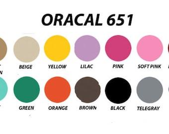 Oracal 651 vinyl | Etsy
