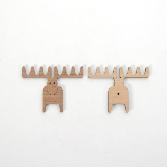 "Funny moose refrigerator magnet 2 1//2x 3 1//2/"""
