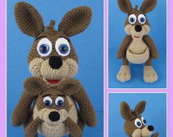 0a91f1f78c3c Kangaroo crochet pattern