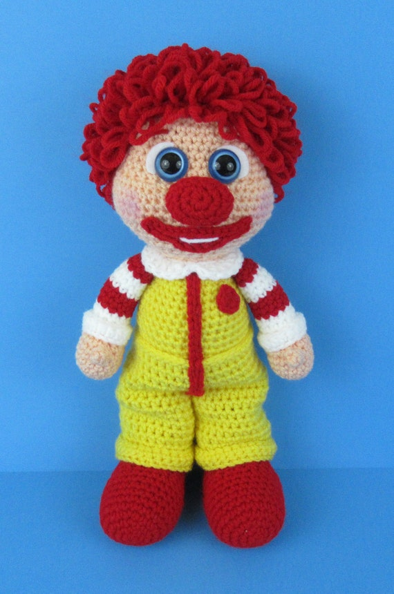 Amigurumi Clown Free Crochet Patterns - Örgü Modelleri | 860x570