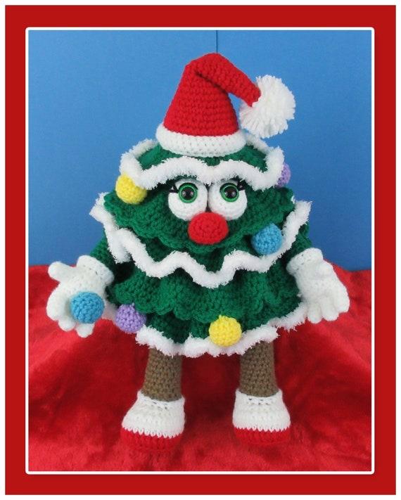 Christmas Tree Crochet Pattern English PDF