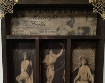 Ziegfeld's Midnight Frolic Cabinet of curiosities