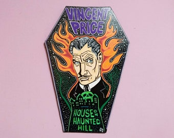 House on Haunted Hill Wooden Coffin
