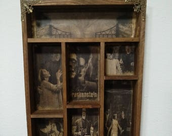 Creepy Families Cabinet of curiosities