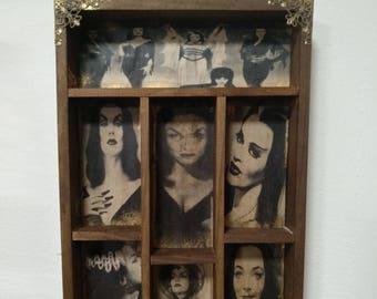 Queens of Horror Mod.2 Cabinet of curiosities