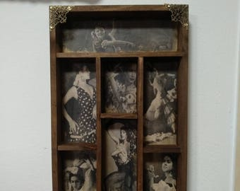 Flamenco Dancers. Mod.2  Cabinet of curiosities