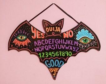 Ouija wooden bat Signal
