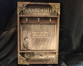Frankenstein Poster Key Rack
