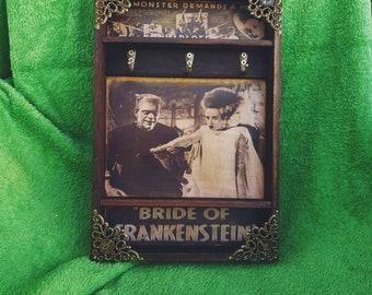 Bride of Frankenstein Key Rack