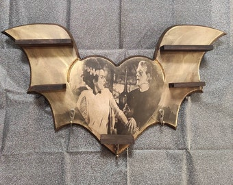 Electric Love Shelves & Hanger- one of a kind
