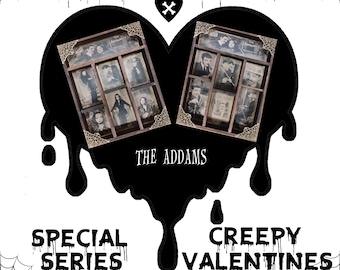 2 Cabinet of Curiosities: Creepy Valentines THE ADDAMS