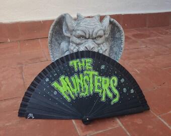 The Munsters Logo Wooden Fan