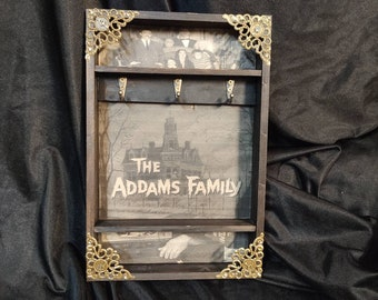 The Addams Family House Key Rack