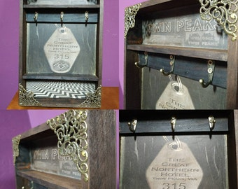 The Great Northern Hotel Key Rack