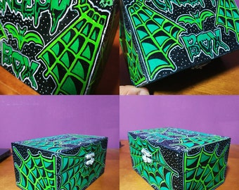 Creepy Wooden Box