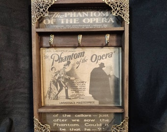 The Phantom of the Opera Poster Key Rack