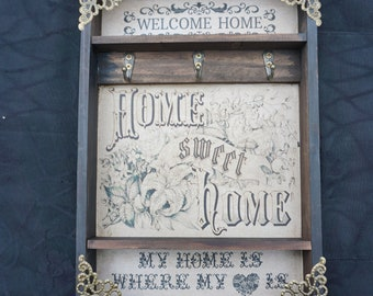 Sweet Home Tattoo  Key Rack