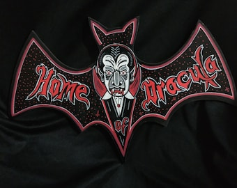 Home of Dracula Mod.2 wooden bat Signal