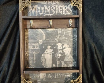 The Munsters Key Rack