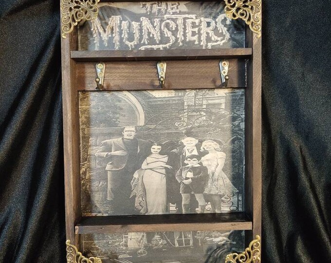 Featured listing image: The Munsters Key Rack
