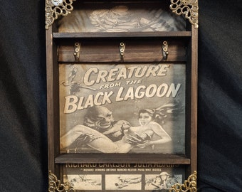 Creature from the Black Lagoon Poster Key Rack