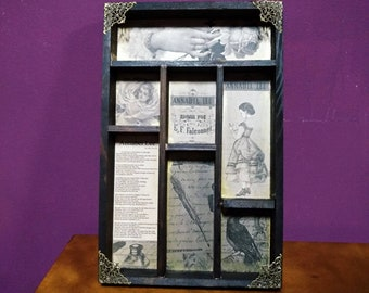 Annabel Lee cabinet of curiosities