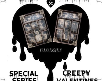 2 Cabinet of Curiosities: Creepy Valentines FRANKENSTEINS
