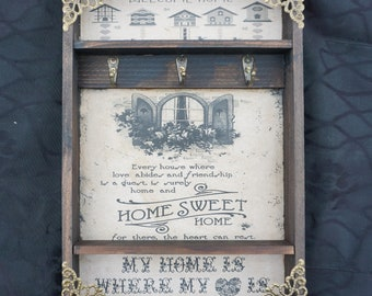 Home Sweet Home Window Key Rack