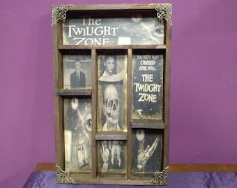 Twilight Zone Cabinet of curiosities