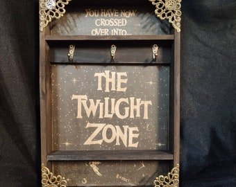 The Twilight Zone Poster Key Rack