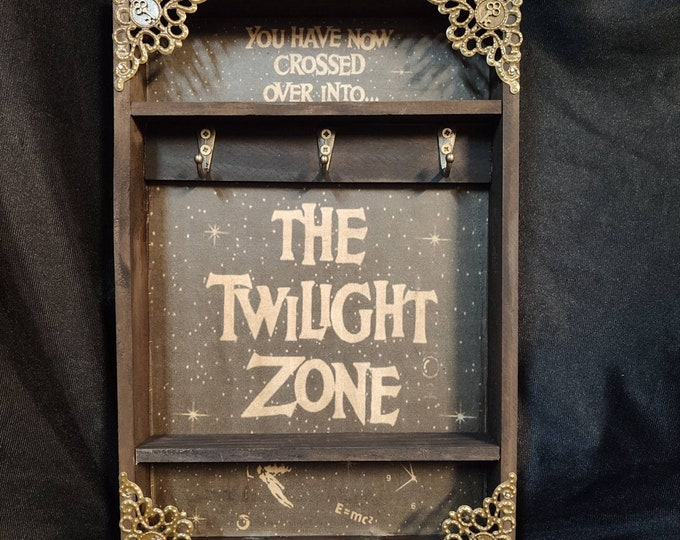 Featured listing image: The Twilight Zone Poster Key Rack