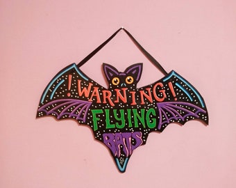 Warning!!  wooden bat Signal