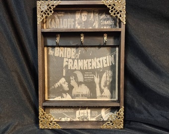 Bride of Frankenstein Poster Key Rack