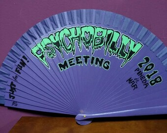 Psychobilly Meeting 2018 Wooden Fan