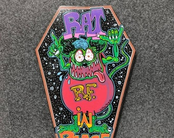 Rat's Coffin'K wooden Coffin Signal
