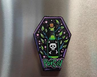 Poison Fridge Magnet