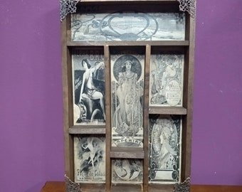 Art Nouveau Posters Cabinet of curiosities