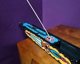 Dagger Wooden incense holder