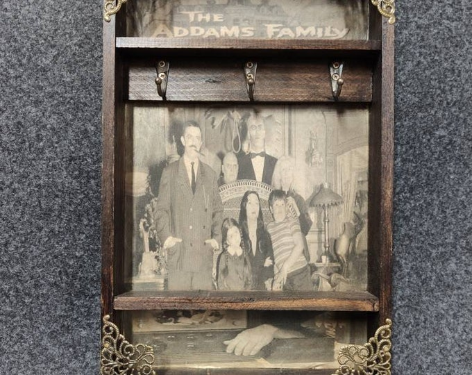 Featured listing image: The Addams Family Key Rack