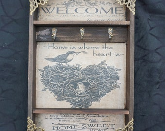 Welcome Home Key Rack